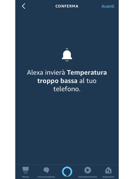 notifica alexa