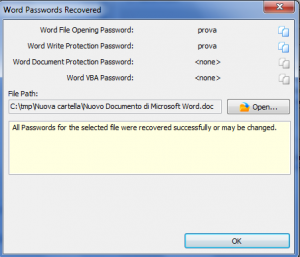 Come trovare password outlook - word - excel access 1
