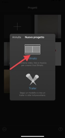 Come unire video su Iphone 2